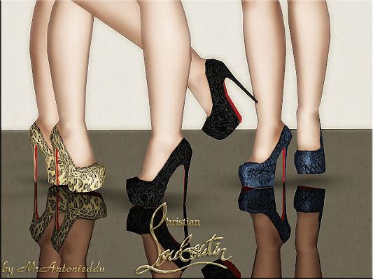 3 In High Heels HbTNsFl5