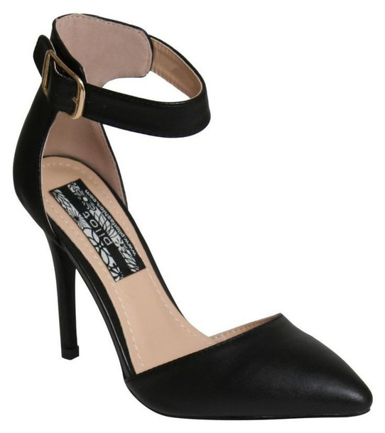 Ankle Strap Closed Toe Heels dfMjg03X
