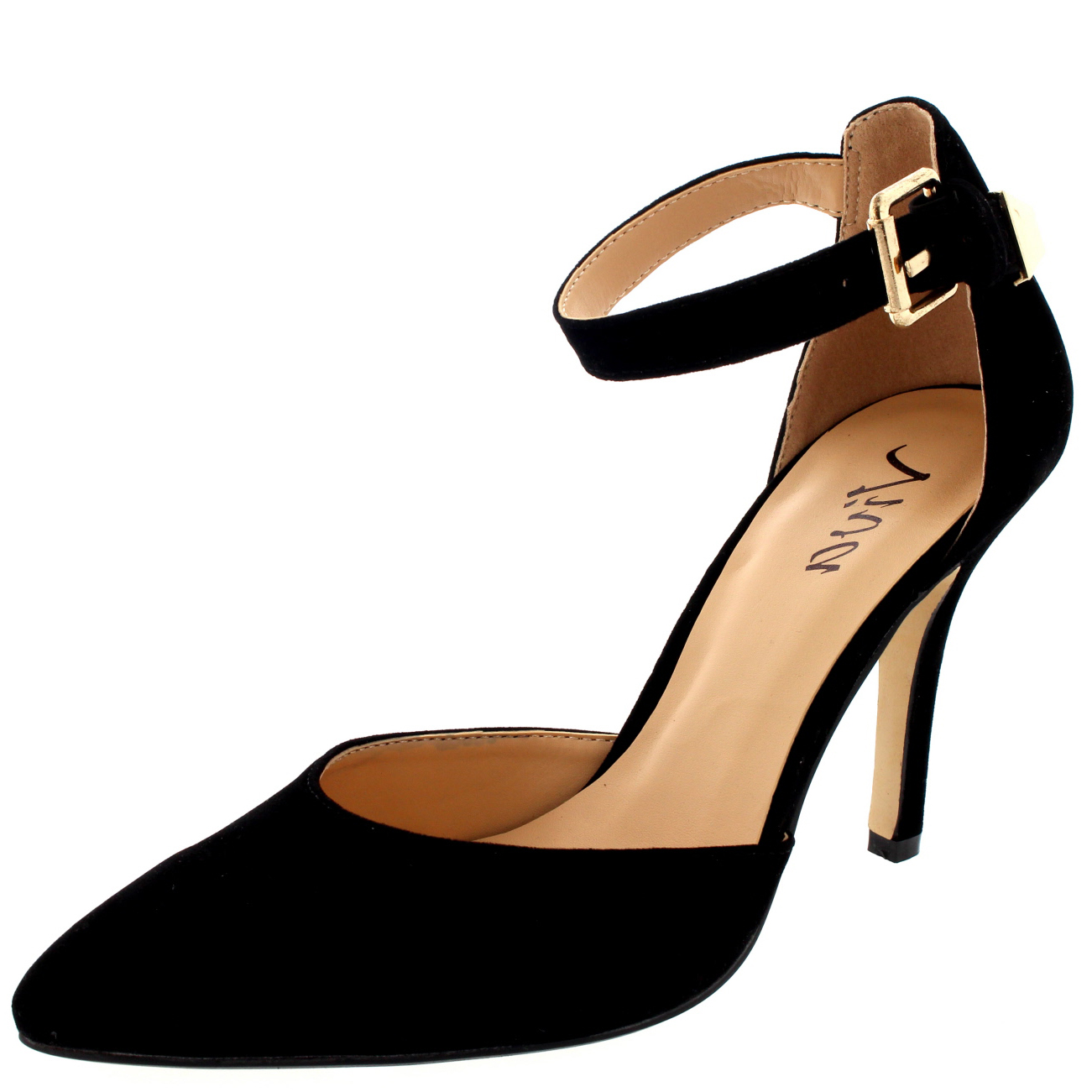 Ankle Strap Low Heels Nbz0263p