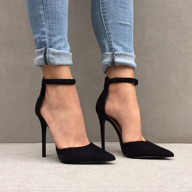 Ankle Strap Pointed Heels rrFaknp7