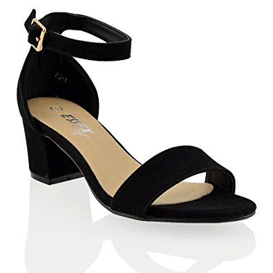 Ankle Strap Sandals Low Heel Oe74G92f