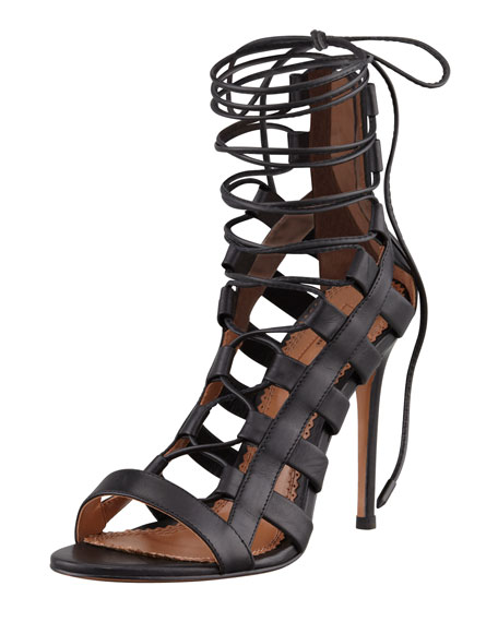 Aquazzura Lace Up Heels q1QFHtzr