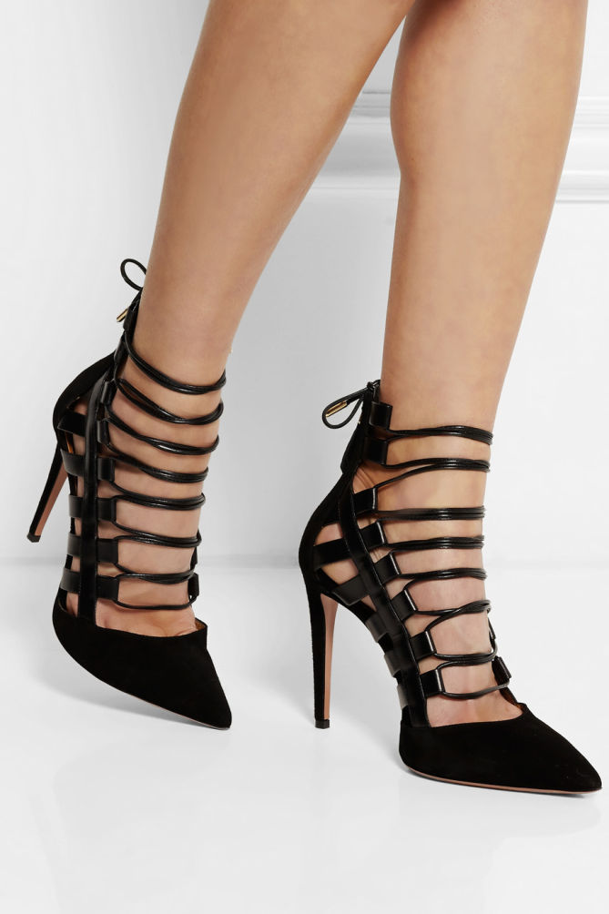 Aquazzura Lace Up Heels lz2S5uhH
