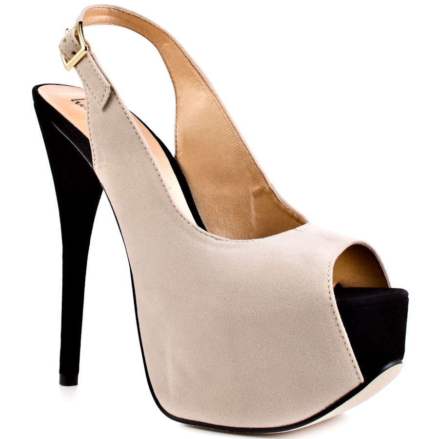 Beige And Black Heels LvfuTq9C