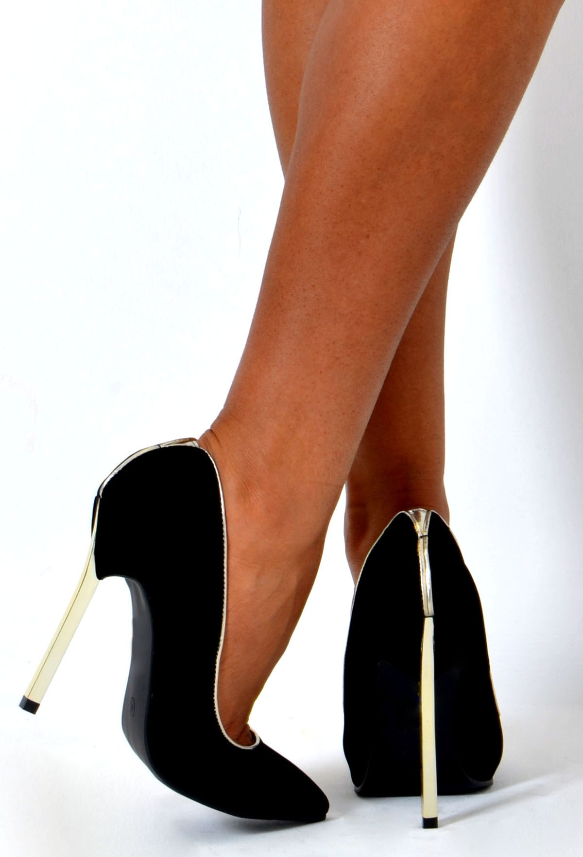 Black And Gold Shoes Heels ndwN0vE4