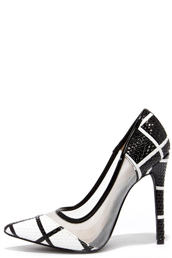 Black And White Heels iEkCYxZZ