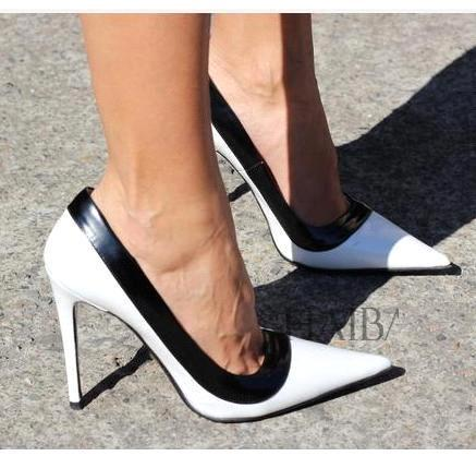 Black And White Shoes Heels Hb1GldOw