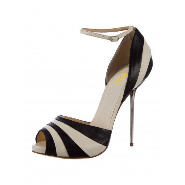 Black And White Stiletto Heels bxVfzRgn