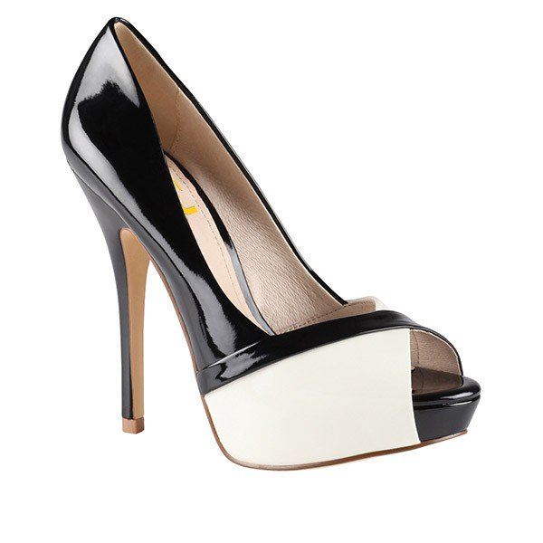 Black And White Stiletto Heels oGjqyki6