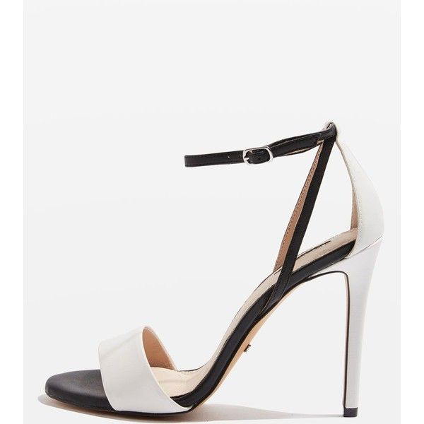 Black And White Strappy Heels MyJziOCp