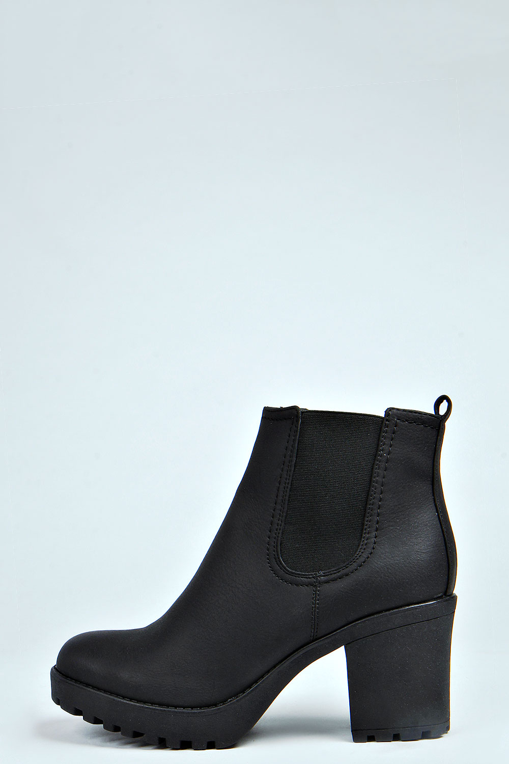 Black Booties With Chunky Heel nd3LXzZy