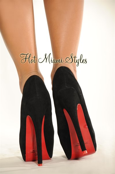 Black High Heels Red Bottom jKhouR9v