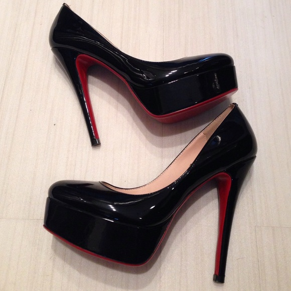 Black High Heels Red Bottom r5RpaY5r