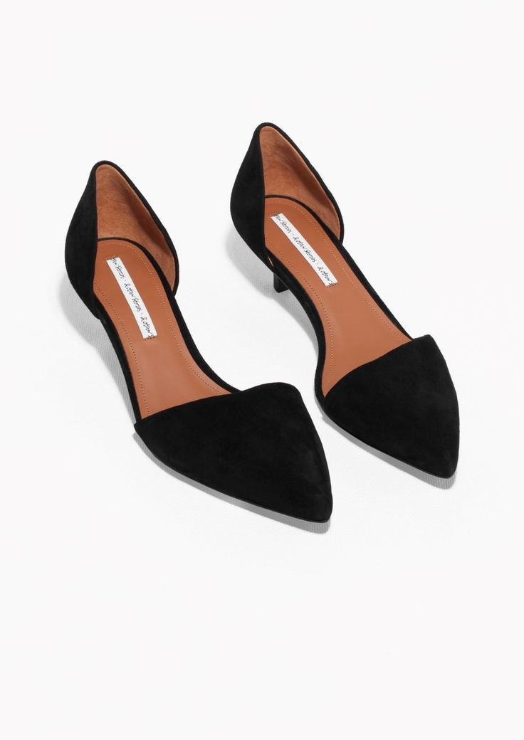 Black Kitten Heel Shoes 0ggBDX20