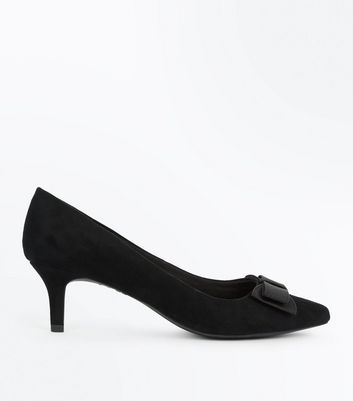 Black Kitten Heel Shoes xS2VSo4w