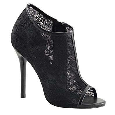 Black Lace High Heels 9mmgubJf