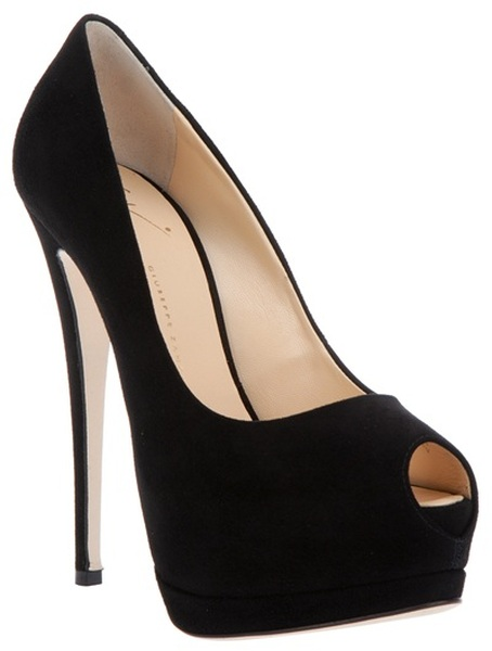 Black Open Toe Heels 98J8DMyi