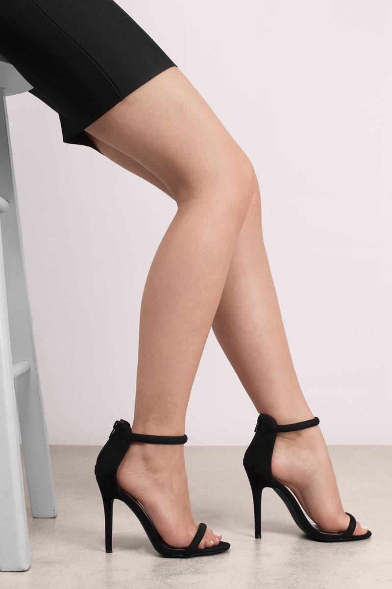 Black Open Toe Heels QQPErHnv
