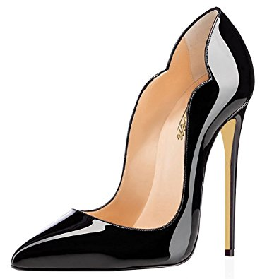 Black Patent Leather Heels 42rC4CmY