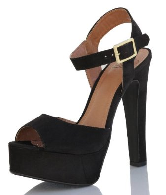 Black Platform Heels With Ankle Strap 2gWR8zFv