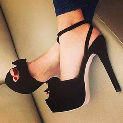Black Platform Heels With Ankle Strap Sff1ef8j
