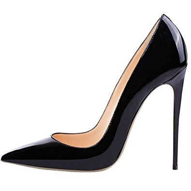 Black Pointed Heels Kay0itcE