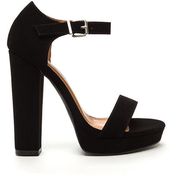 Black Pumps Chunky Heel PoP4GVVu