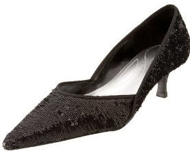 Black Pumps Kitten Heel Y39HYL1D