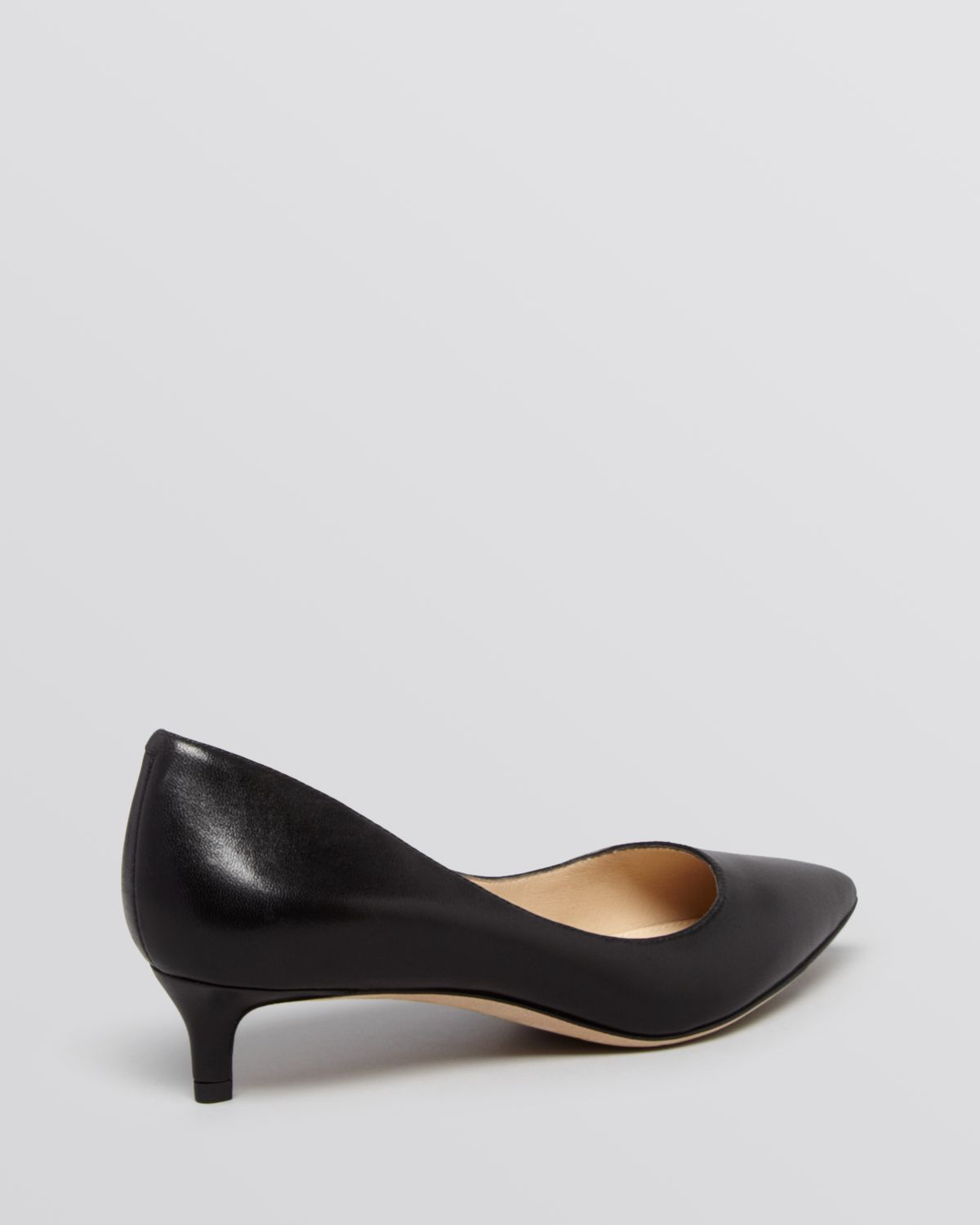 Black Pumps Kitten Heel 2TDhUZY2