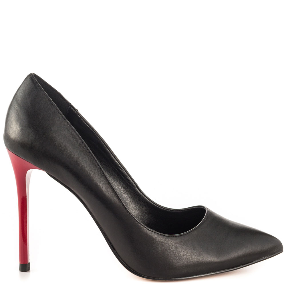Black Pumps With Red Heels 96G3Rx3S