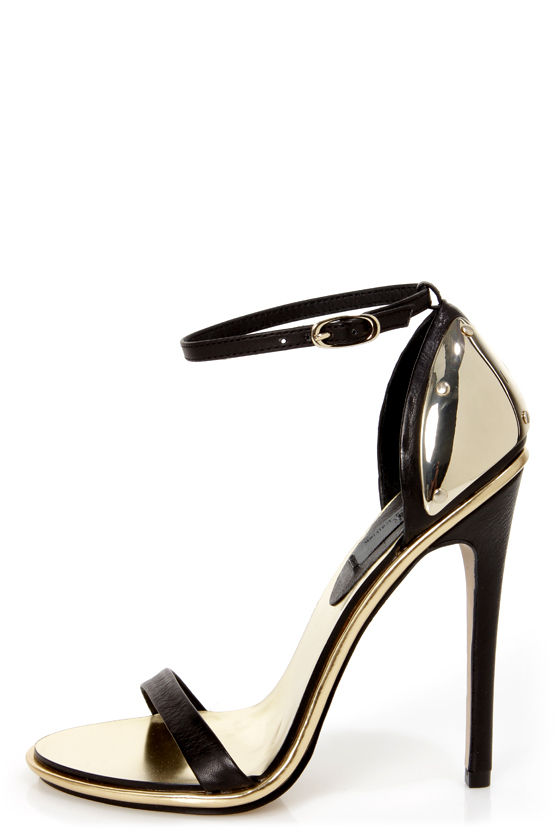 Black With Gold Heels 6h3iGLEp