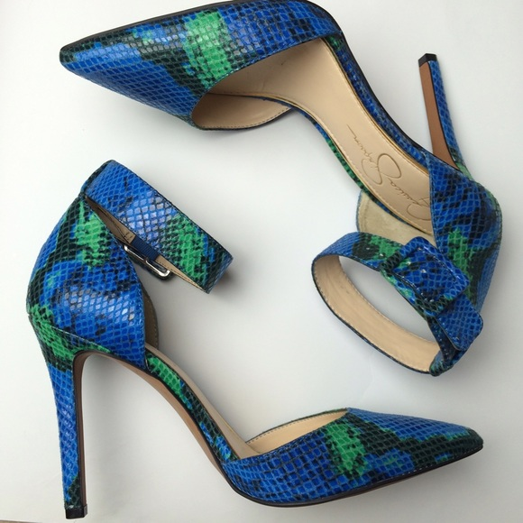 Blue And Green Heels KsZIMUjt
