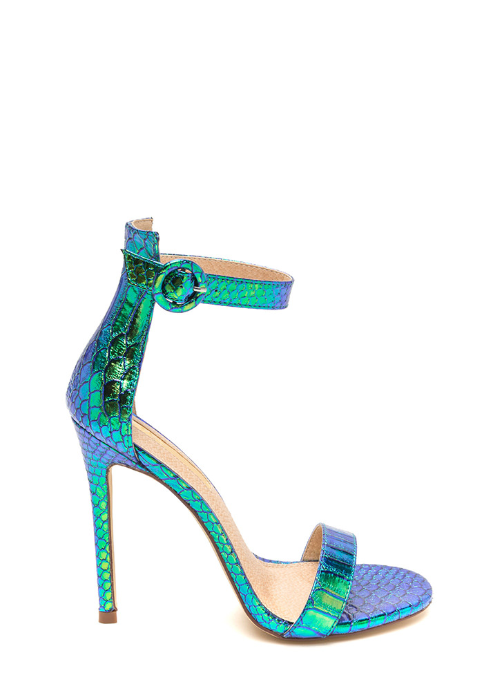 Blue And Green Heels UgX2bmpo