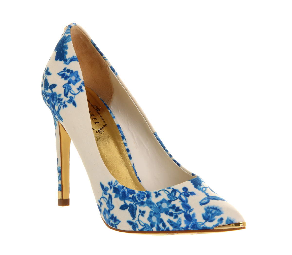 Blue And White High Heels 5BqbRijL