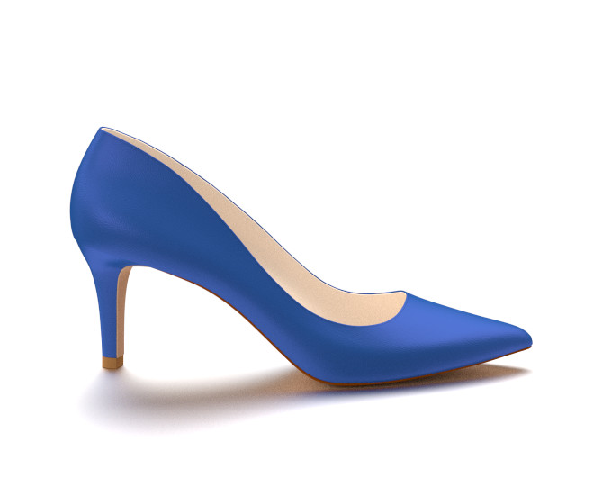 Blue High Heel Shoes dcxvQSzA