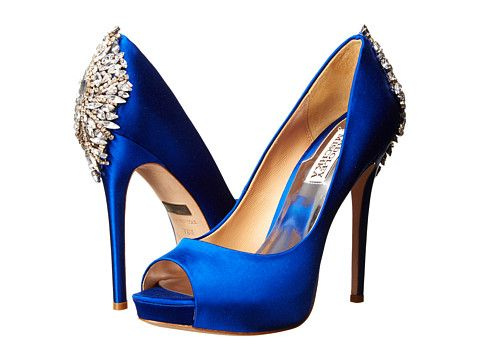 Blue High Heels Wedding Shoes jjNQjoTe