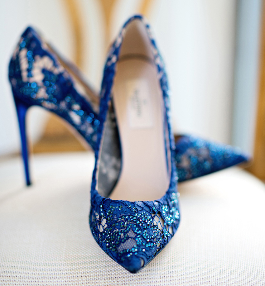 Blue Wedding Heels GBLC0qjY