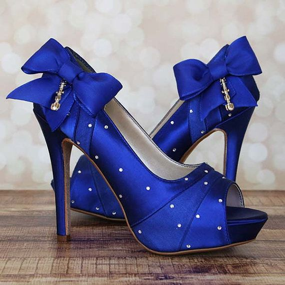 Blue Wedding Heels gdcPERYM