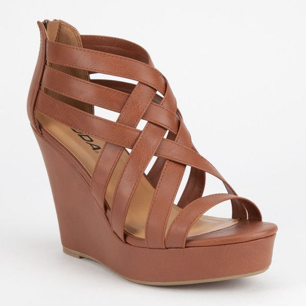 Brown Wedge Heels oxsHeSgG