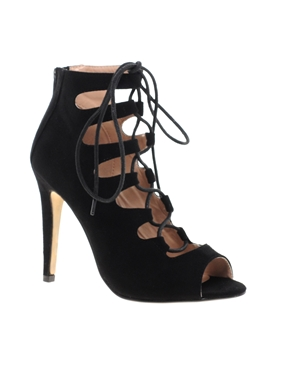 Caged Lace Up Heels t5H1yoOG