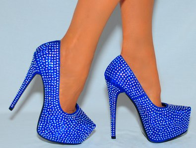 Cheap Blue Heels mGh2fC8g