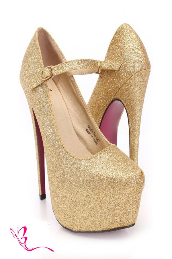 Cheap Gold Heels For Prom ZpASYBDp