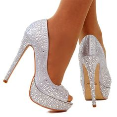 Cheap Silver Sparkly Heels 97mhYQoY
