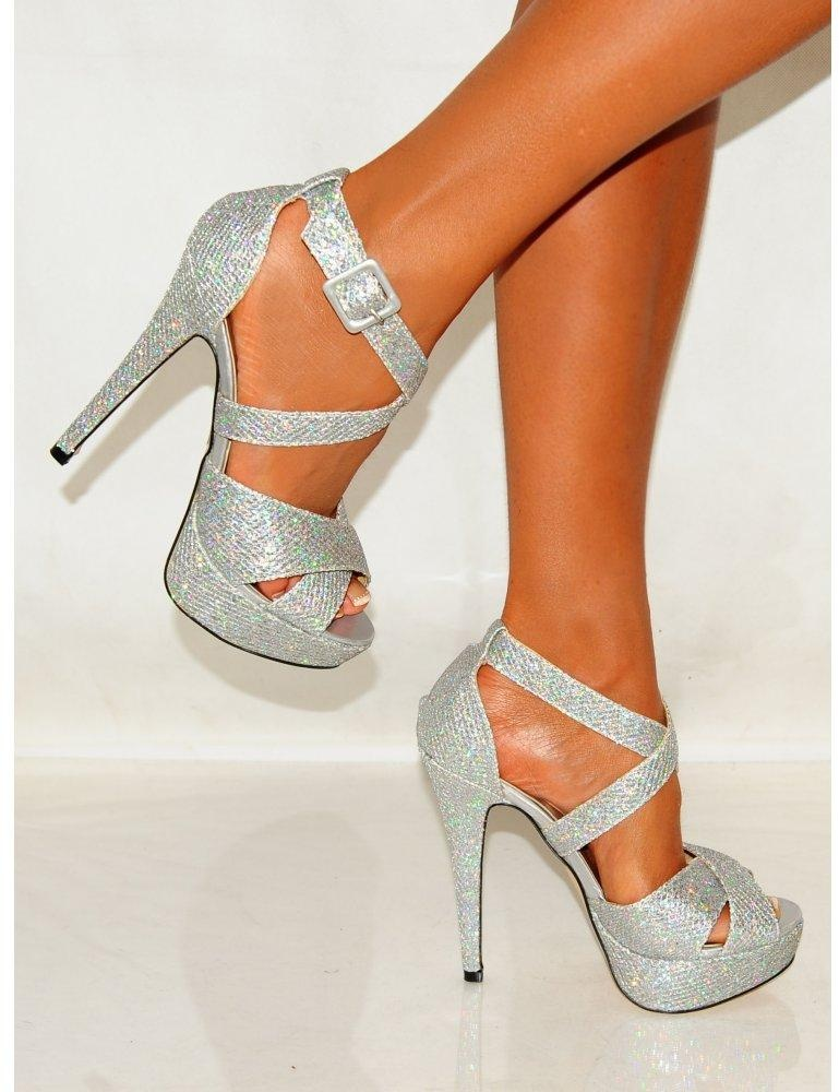 Cheap Silver Strappy Heels vRXmHeSR