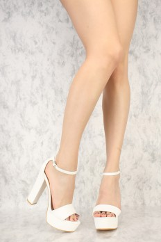 Cheap White Heels ASBehCxy