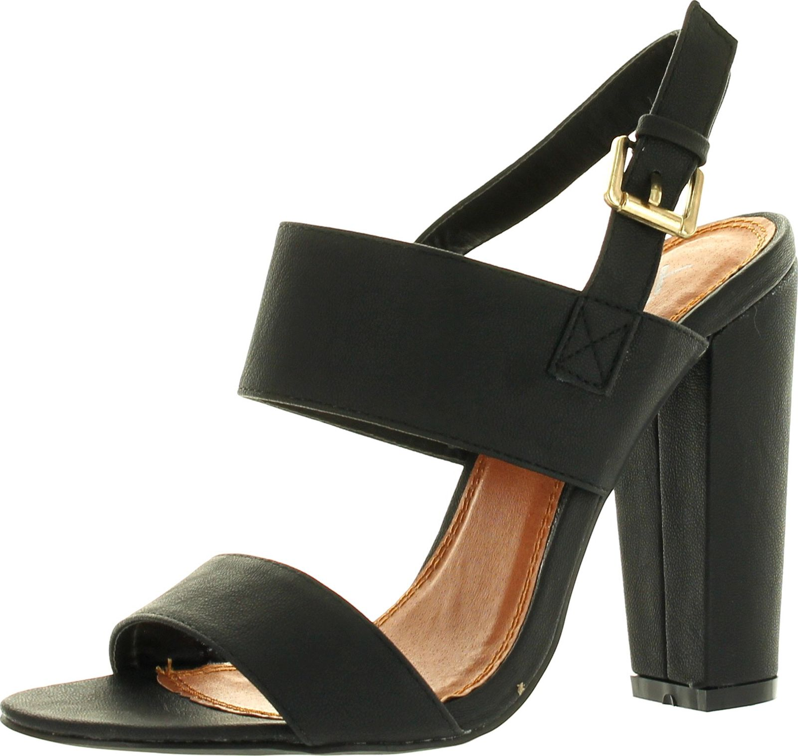 Chunky Heel Ankle Strap Sandals xem3xhfm