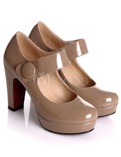 Chunky Heel Mary Jane Shoes gU8O3A38