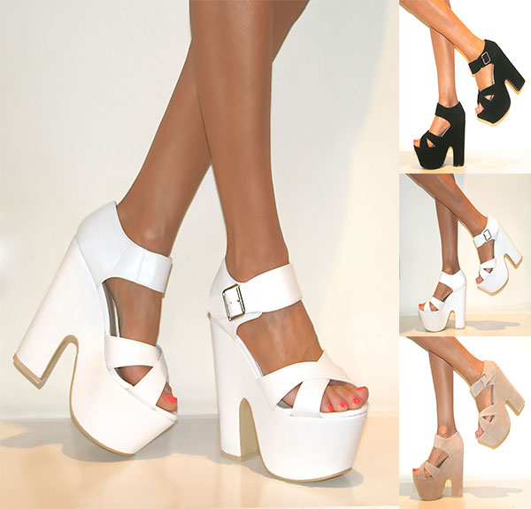 Chunky Heels With Ankle Strap RFvAw7I3
