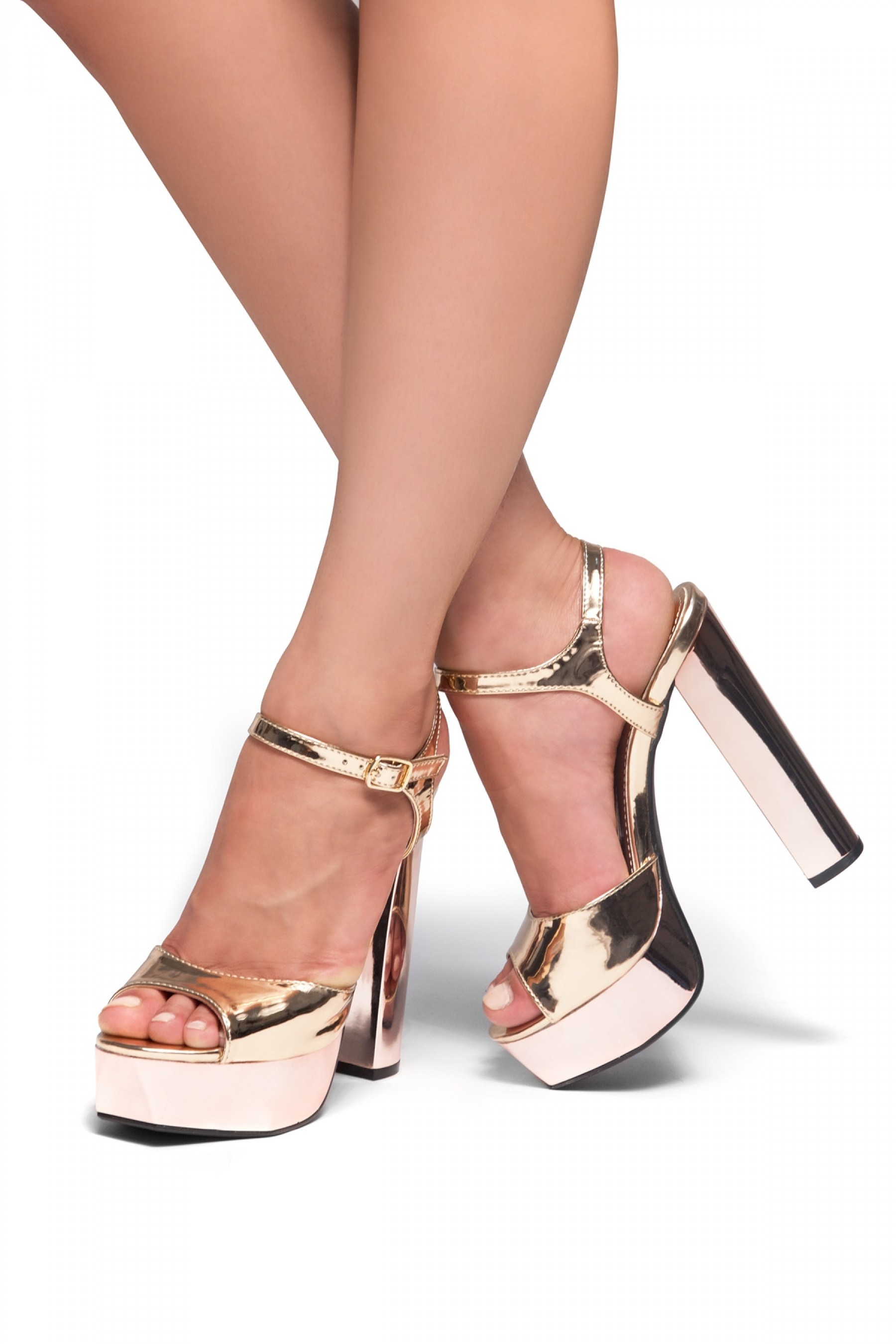 Chunky Heels With Ankle Strap tfffrGC1