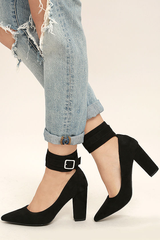 Closed Toe Ankle Strap Heels ycMnvGuP